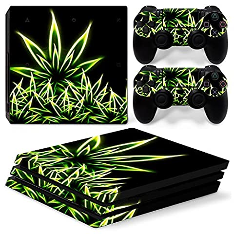 Chickwin PS4 Pro Vinyl Skin Full Body Cover Sticker Decal For Sony Playstation 4 Pro Console and 2 Dualshock Controller Skins (Bling (Ps4 Hardrive 1tb)