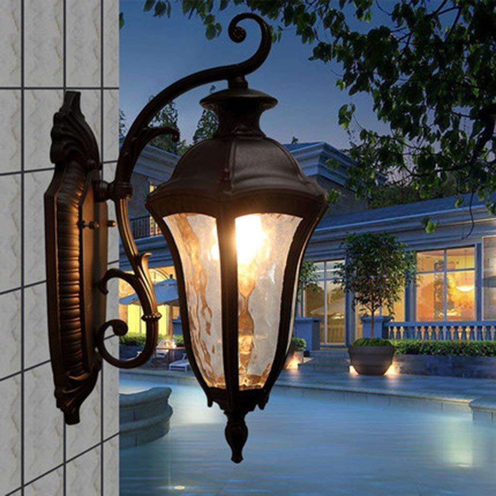 Im Europäischen Stil Beleuchtung Außenbeleuchtung im Freien zu Fuß Die Wand des Balkons wasserdicht Boden Hof mit dem Garten der Beleuchtung Garten Villa ist offensichtlich, ( Farbe   - , Größe   - )
