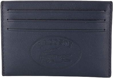 Lacoste L.12.12 Cuir CC Holder Dark Sapphire: Amazon.es: Zapatos y complementos