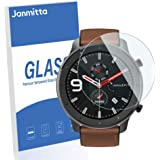 [4 Pack] Janmitta Amazfit GTR 47mm (D36) Screen Protector, [9H Hardness][Scratch Resistance][Ultra Clear][No Bubble][2…