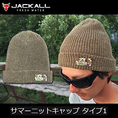 JACKALL(ジャッカル) サマーニットキャップ タイプ1 ブラックの商品画像