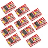 Optimus Electric 10pcs 2-Channel Audio Amplifier Module Board with 3W Output Power Each Channel and PAM8403 Amplifying Chip for MP3 and MP4 Players from