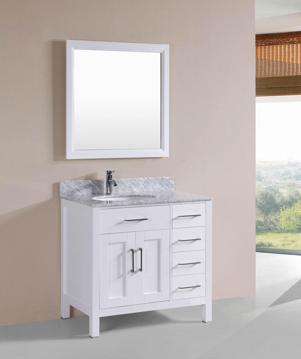 marble bathroom vanity. Belvedere Designs T9150A Solid Bathroom Vanity With Marble Top, 36\