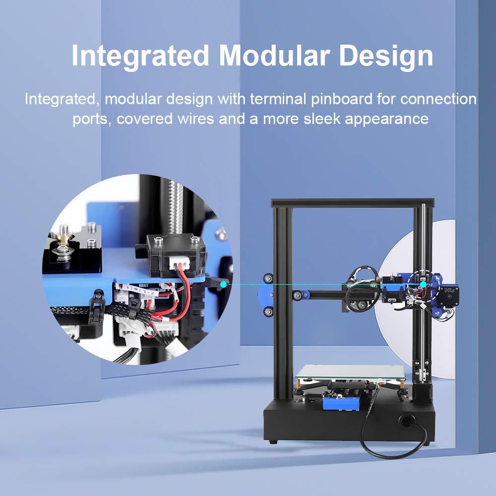 Resume Printing All Metal Frame 3D Printer Online /& Offline Print Anet ET4X DIY 3D Printer 2.8 Inch Intutive Touch Screen 220X220X250mm