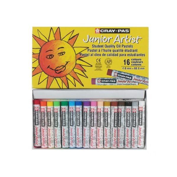 Sakura-Cray-Pas-Junior-Artist-Oil-Pastels-Assorted-Colors-Set-of-16