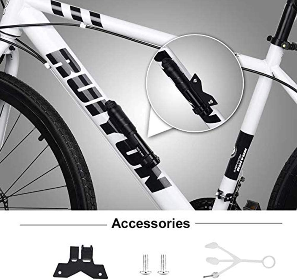 Details about  /Mini Bike Pump Portable Bicycle Tire Air Pump Durable Cycling Inflator