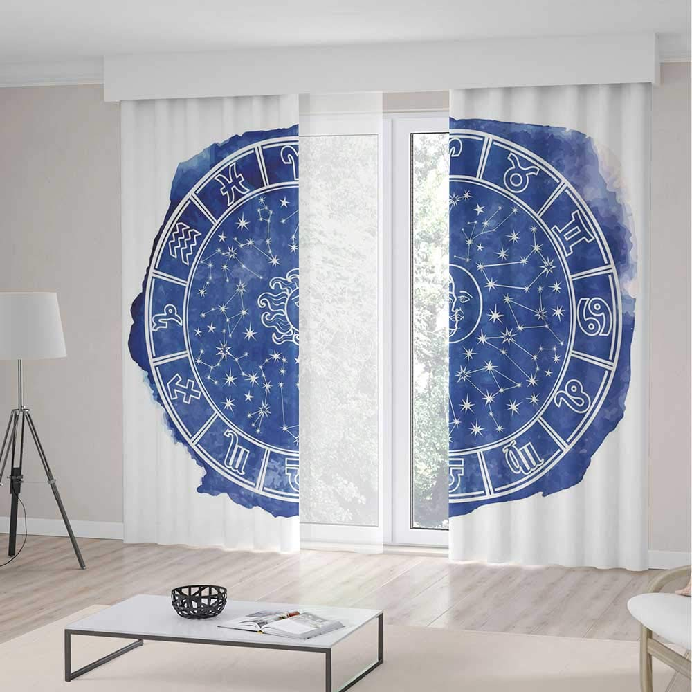 YOLIYANA Cortinas de Ventana inspiradas en Mandala de Sol y Luna ...