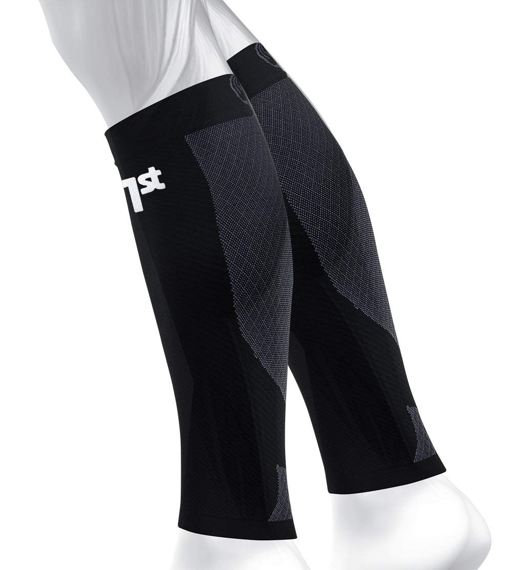 OS1st CS6 Compression Leg Sleeves (Two Sleeves) Relieve shin splints, Reduce Muscle Cramps, Improve Circulation and Enhance Recovery by OS1st