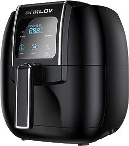 Amazon Giveaway ENKLOV Air Fryer 5.5QT XL (Recipe Guide...