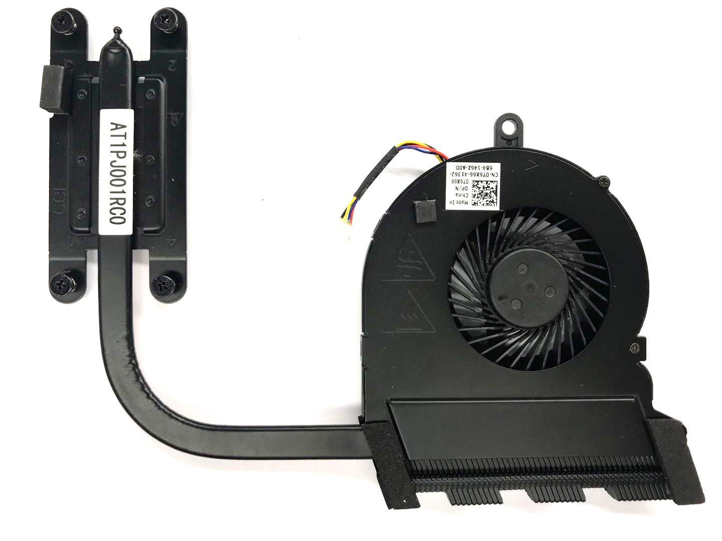 HK-Part Replacement Fan for Dell Inspiron 5565 5567 5767 CPU Cooling Fan with Heatsink DP/N 0T6X66 CN-0T6X66 T6X66