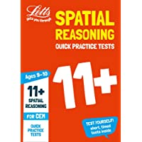 11+ Spatial Reasoning Quick Practice Tests Age 9-10 for the CEM tests