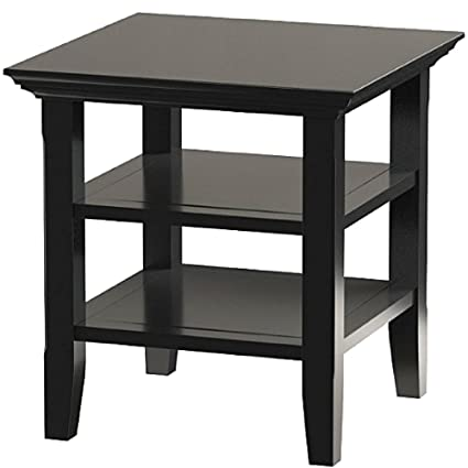 Amazon Com Rustic Handcrafted End Table Small Pine Side Chairside