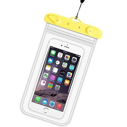 meet dfc48 c7b55 Amazon.com: Waterproof Phone Case HANUKEII IPX8 Dry Bag Pouch for ...
