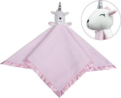 Soft Snuggle Comfort Blanket Softan Baby Unicorn Comforter Blanket Toddler Plush Stuffed Animals Security Blanket for Boy Girl Great Gift Idea