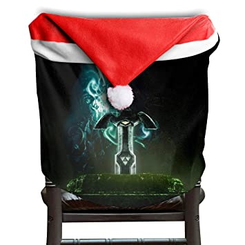 Fantastic Amazon Com Cnjellaw Zel Da Le Gend Sword Christmas Chair Squirreltailoven Fun Painted Chair Ideas Images Squirreltailovenorg