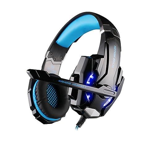 Winwintom Auriculares Cascos Gaming De Diadema Abiertos con ...