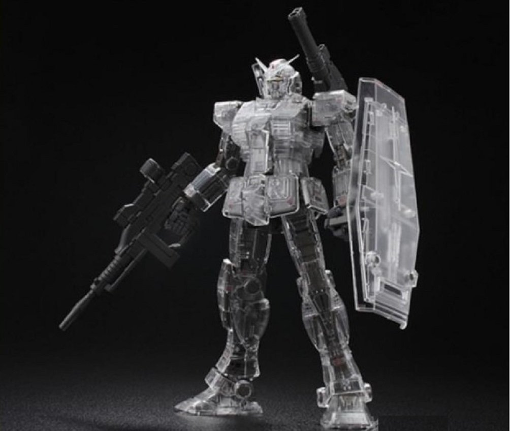 Bandai MG 1 100 RX-78-02 GUNDAM THE ORIGIN Mechanical Clear Limited