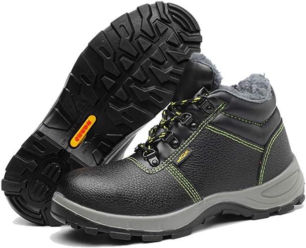 Zapatos de Seguridad para Hombre Invierno Piel Calzado de ...