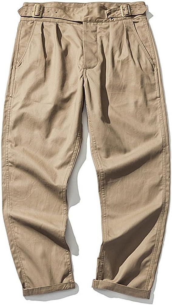 1940s Trousers, Mens Wide Leg Pants VTGDR British Army Gurkha Pants 9oz Khaki Pants Mens Military Officer Trousers  AT vintagedancer.com