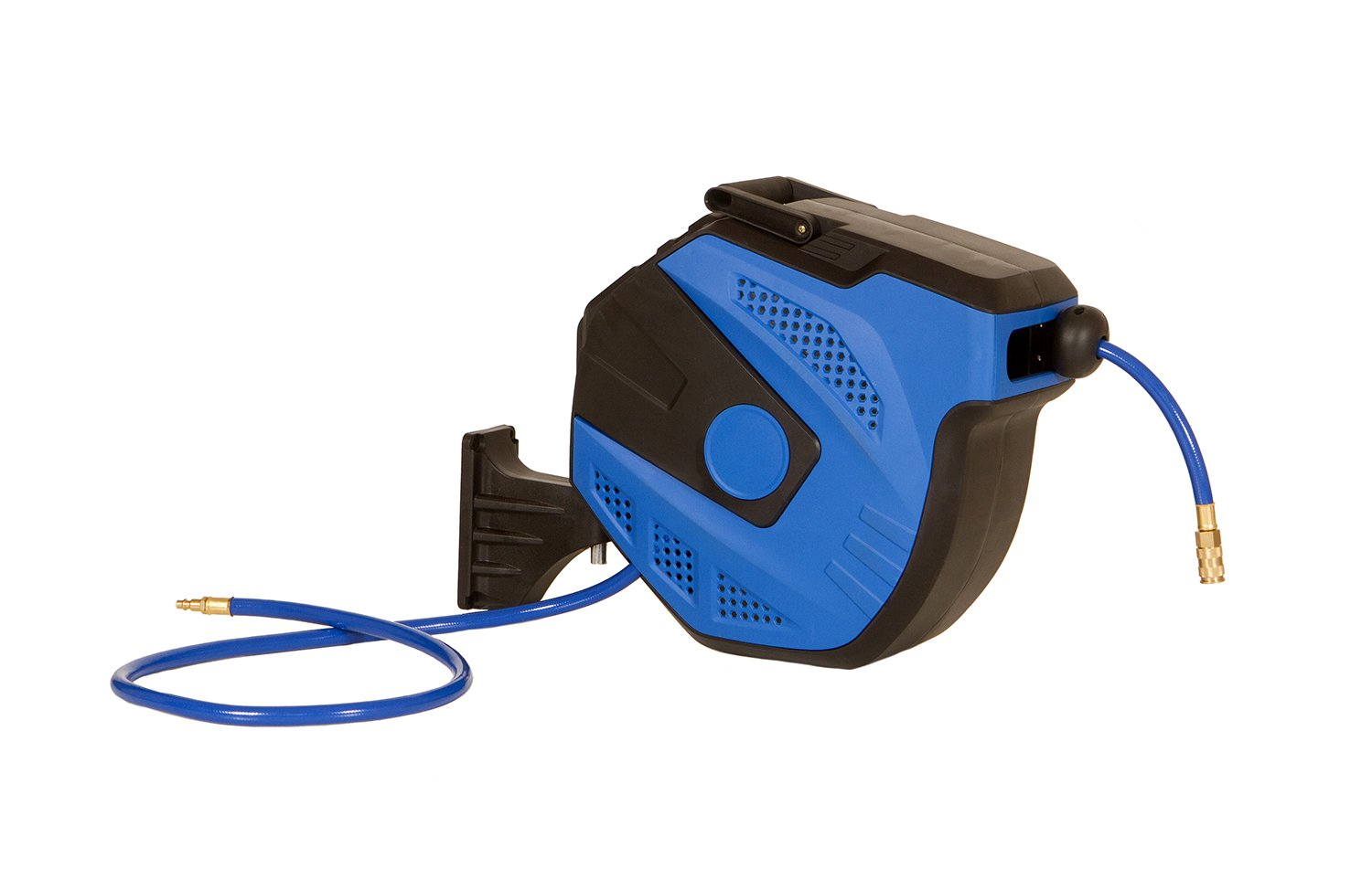 3//8 inch x 50 Foot Mountable//Portable Air Compressor Reel with Hose ABN Air Hose Reel Auto Rewind