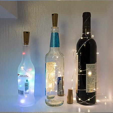 10 Unidades] 20 Leds 2M Luces De Botella Luces De Hadas ...