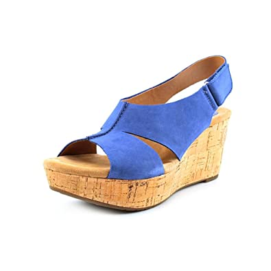 4528a374f34 Clarks Caslynn Lizzie Wedge Sandals Shoes Womens New Display  Amazon.co.uk   Shoes   Bags