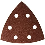 Bosch SDTR082 80 Grit Detail Sander Abrasive Triangles for Wood (25 Pack), 3-3/4 by BOSCH