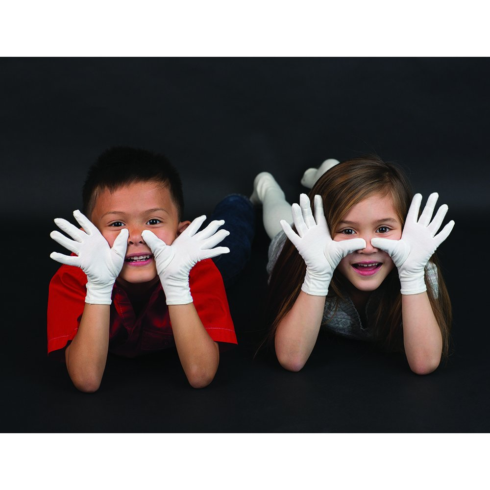 Cotton Eczema Gloves for Children - 9-10 Years - One Pair Bamboo
