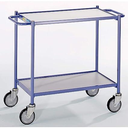 Euro Fuerza mesa carro, Capacidad de Carga 150 kg - con manillar ...
