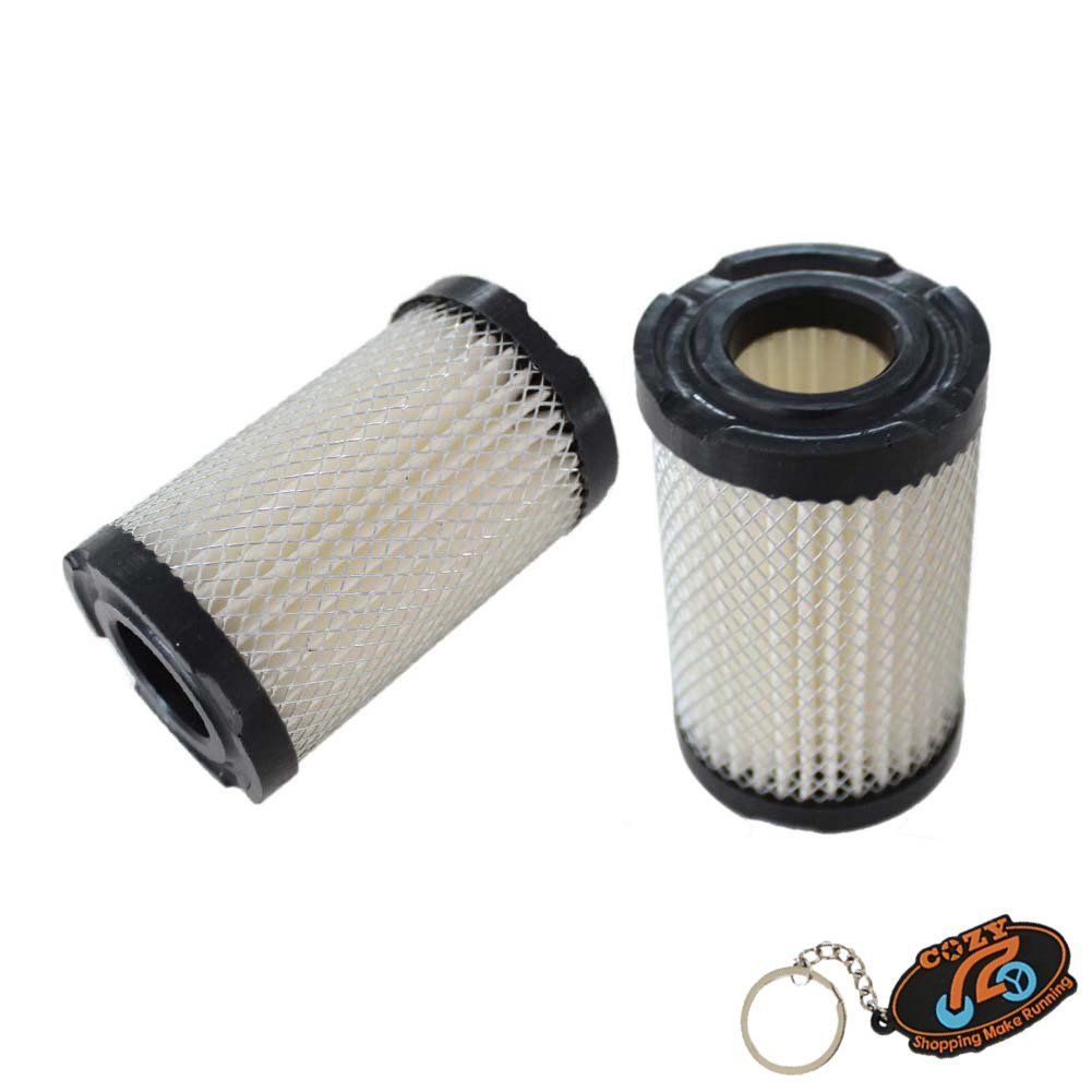 COZY Pack of 2 Air Filter fit Qualcast Classic 35S 43S Tecumseh Engine Lawnmower 35066 Replace Oregon 30-301 Replace Oregon 30-301 Lesco 050128 Tecumseh 740095 Sears 63087A John Deere AM123992 COZY Shopping Make Running