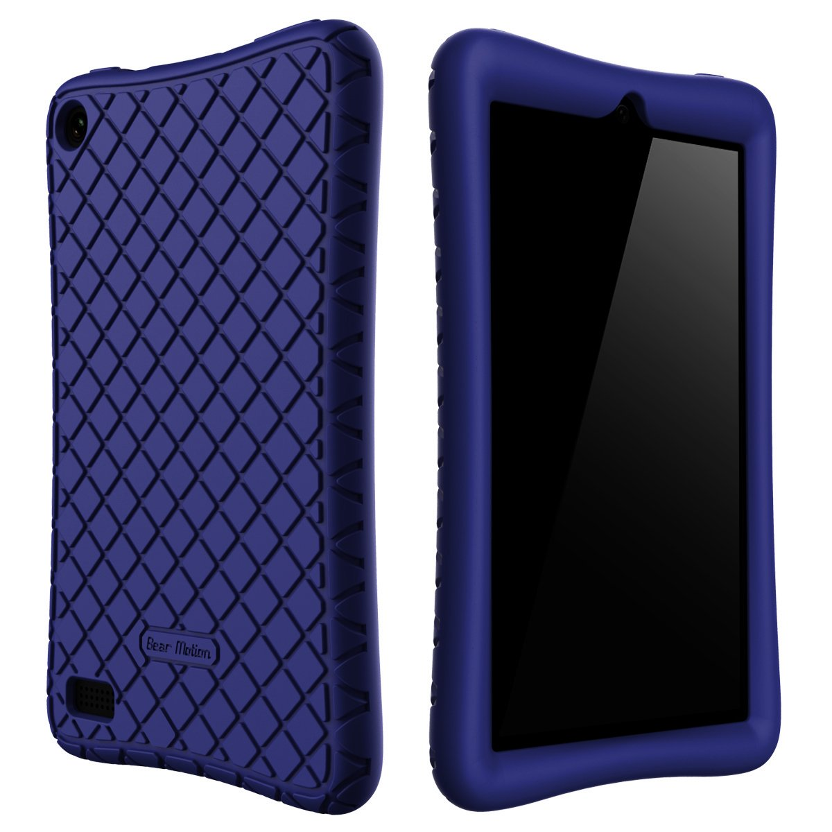 Funda Para Tablet Amazon Fire 7 - Silicona - Azul