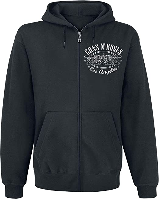 Guns N' Roses Paradise City Label Sweat Shirt zippé à