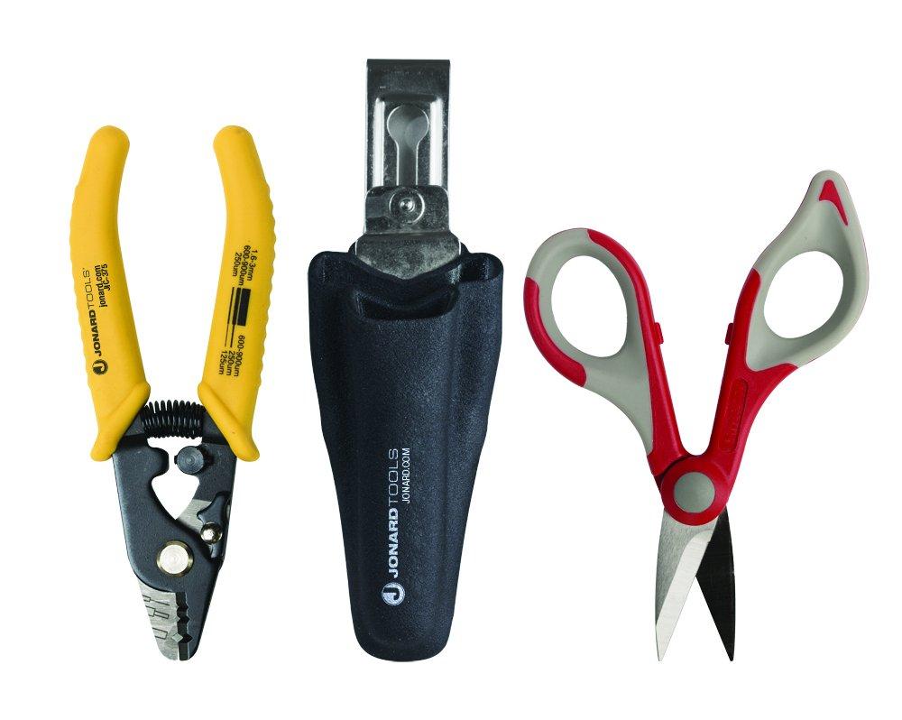 Jonard TK-350 Fiber Kit with Kevlar Cutter