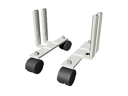 Juego de ruedas para radiadores de inercia gama AeroFlow