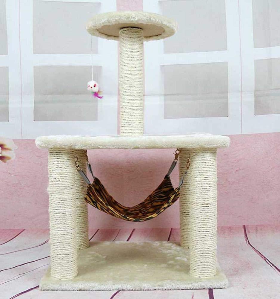 bluee Weiwei Cat climbing Frame cat tree cat nest for sleeping games 45cm 35cm  71cm