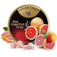 德国进口Cavendish Harvey嘉云斯糖混合水果味什锦硬糖零食铁罐盒装 (粉柚味200g)