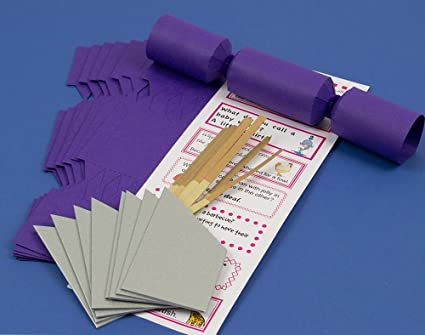 Amazon 8 mini rich purple make fill your own cracker making 8 mini rich purple make fill your own cracker making craft kit solutioingenieria Gallery