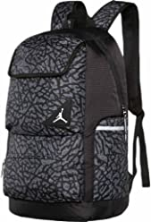 Jordan Youth Boys Playoff Backpack Black/Grey