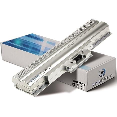 Batería para ordenador portátil Sony VAIO VGN-AW21Z/B 6600 mAh 10,8