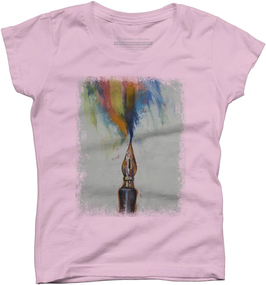 INK Girls Youth Graphic T Shirt Design By Humans