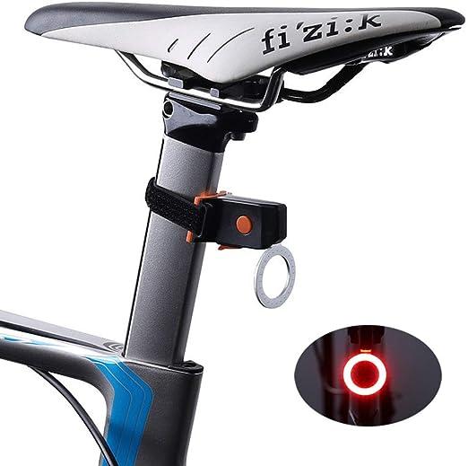Super& strong Luces traseras de Bicicleta Carga de USB Luces de ...
