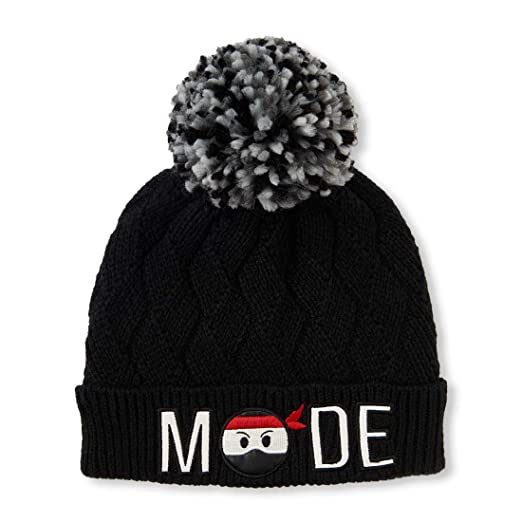 aeef628486a5bf Amazon.com: The Children's Place Big Boys' Beanie Cold Weather Hat: Clothing