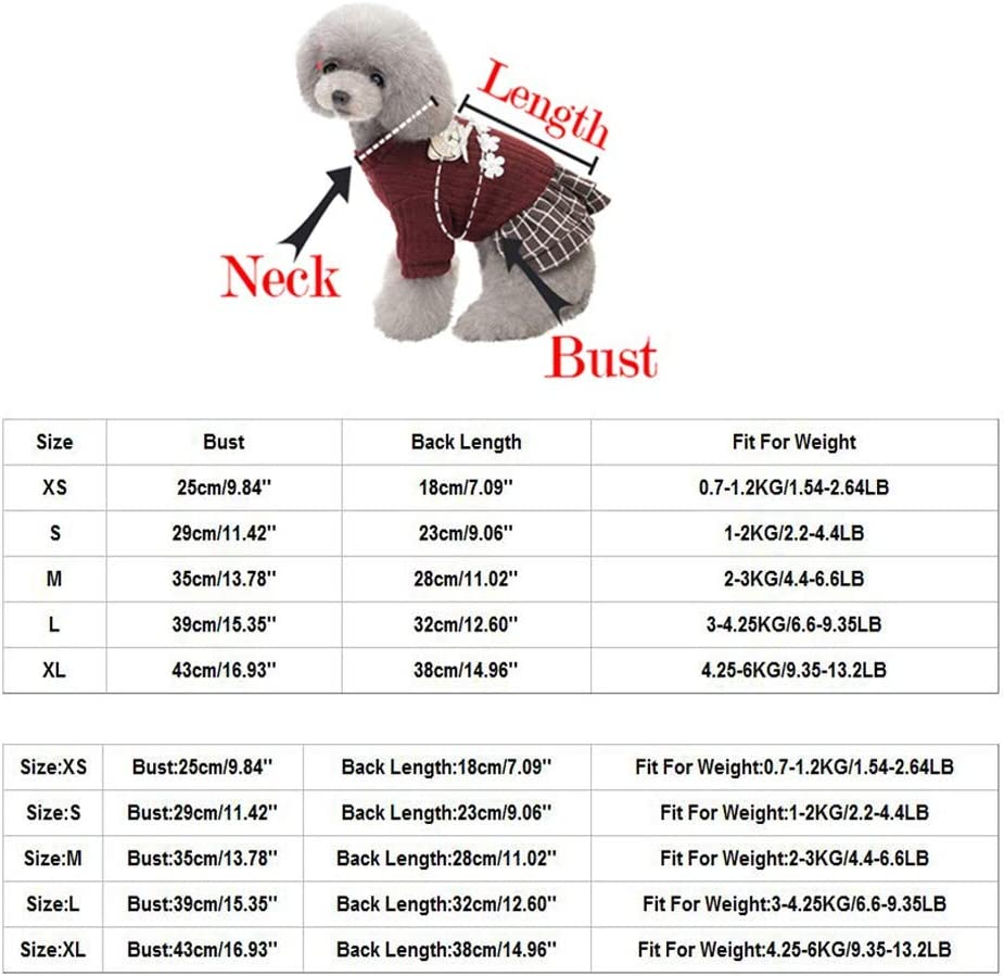 waitFOR Pets Two-legged Autumn Winter Warm Coat Dogs Cats Cartoon Fox Printing Hoodie Jumper Pockets Sweater Pets Thicken Warm Sweatshirt Doggy Coat Xmas Gift for Puppy Apparel Pets Clothing