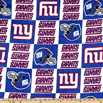 Image Unavailable. Image not available for. Color  Fabric  Traditions quot NFL Fleece New York Giants ... 1344d0fa5