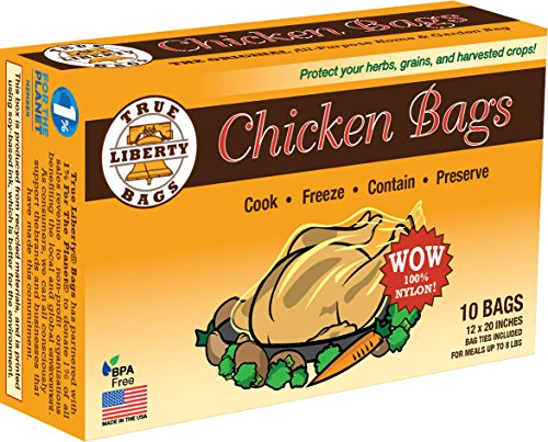 True Liberty Bags - Chicken 10 Pack - All Purpose Home and Garden Bags