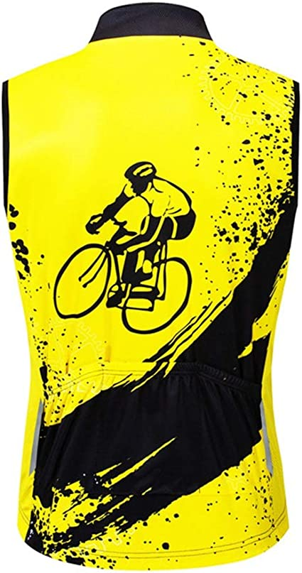 Jersey ciclismo masculino Ambos lados tira reflectante for hombre ...