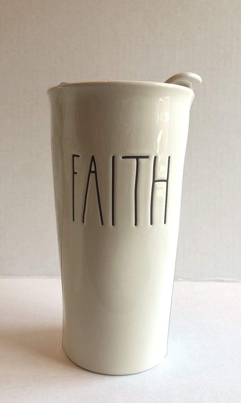 Rae Dunn Faith Tumbler by Magenta