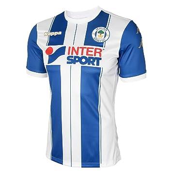 Kappa 2017-2018 Wigan Athletic Home Football Shirt: Amazon.es: Deportes y aire libre