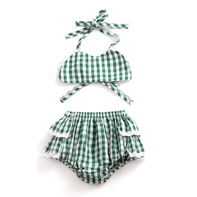 Ugokarj Baby Mädchen Sommer Kleidung Kleinkind Kleinkind Grün