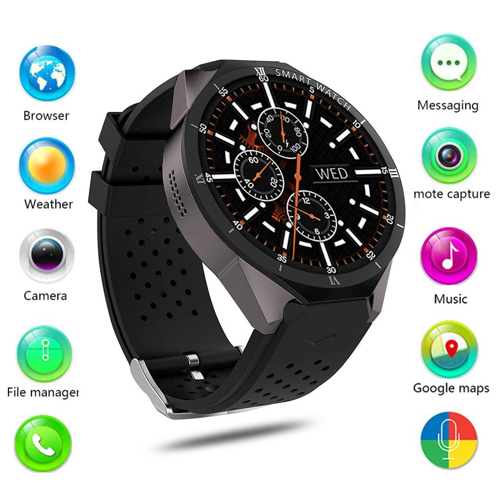 Leo565Tom - Reloj Inteligente con Bluetooth para Android 7.0 ...